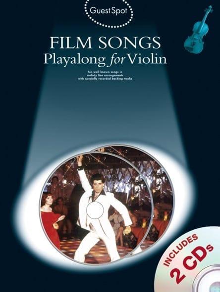 Guest Spot - Film Songs Playalong For Violin - laflutedepan.com