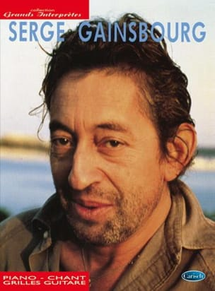 Collection Grands Interprètes Serge Gainsbourg Partition laflutedepan