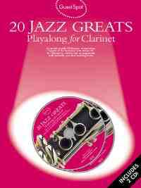 Guest Spot - 20 Jazz Greats Playalong For Clarinet laflutedepan