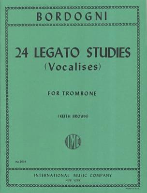 24 Legato Studies Vocalises Marco Bordogni Partition laflutedepan