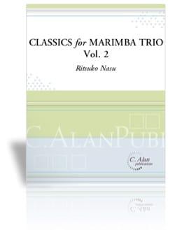 Classics for Marimba Trio Vol 2 Partition Marimba - laflutedepan