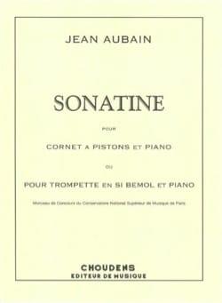 Sonatine Jean Aubain Partition Trompette - laflutedepan
