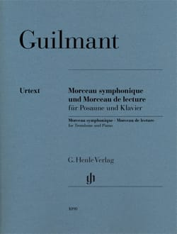 Alexandre Guilmant - Symphonic Song Opus 88 and Song of Reading - Partition - di-arezzo.co.uk
