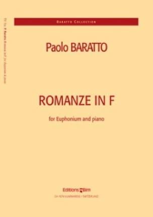 Romanze In F - Paolo Baratto - Partition - Tuba - laflutedepan.com