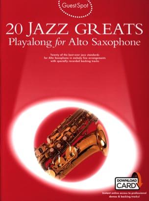 Guest Spot - 20 Jazz Greats Playalong For Saxophone Alto laflutedepan