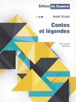 Contes et Légendes André Telman Partition laflutedepan