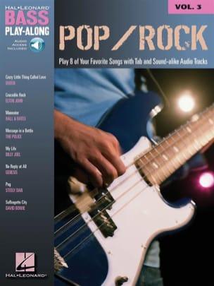 Bass Play-Along Volume 3 - Pop/Rock Partition Guitare - laflutedepan