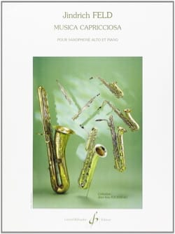 Musica Capricciosa Jindrich Feld Partition Saxophone - laflutedepan