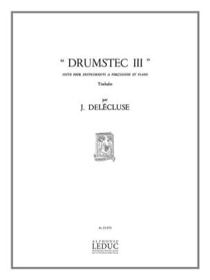 Drumstec N° 3 Jacques Delécluse Partition Timbales - laflutedepan