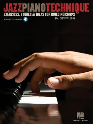 Jazz Piano Technique John Valerio Partition Piano - laflutedepan
