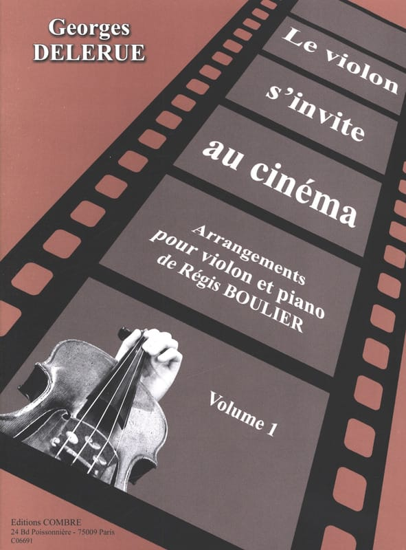 Le violon s'invite au cinéma volume 1 - laflutedepan.com