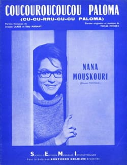 Coucouroucoucou Paloma - Nana Mouskouri - Partition - laflutedepan.com
