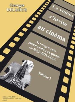 Georges Delerue - The violin invites itself to the cinema volume 2 - Partition - di-arezzo.co.uk