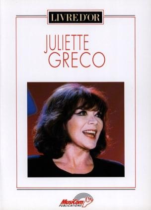 Livre d'or - 17 Succès Juliette Greco Partition laflutedepan
