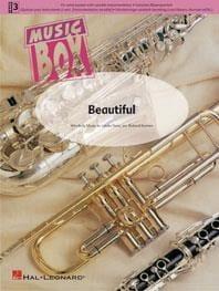 Beautiful - music box Katy Perry Partition ENSEMBLES - laflutedepan