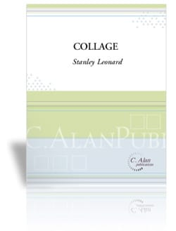 Collage Stanley Leonard Partition Timbales - laflutedepan