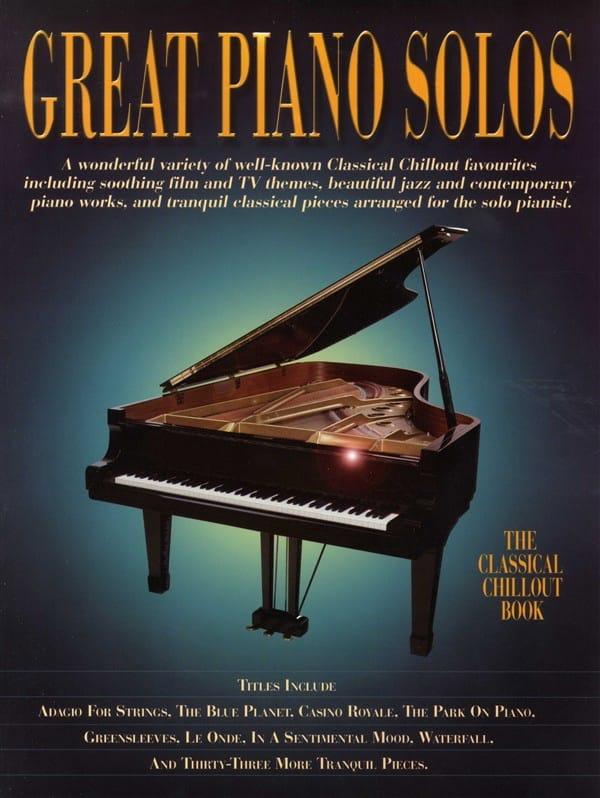 Great Piano Solos - Classical Chillout Book - laflutedepan.com