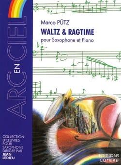 Waltz & Ragtime Marco Pütz Partition Saxophone - laflutedepan