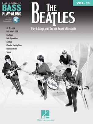 Bass Play-Along Volume 13 - The Beatles Beatles Partition laflutedepan