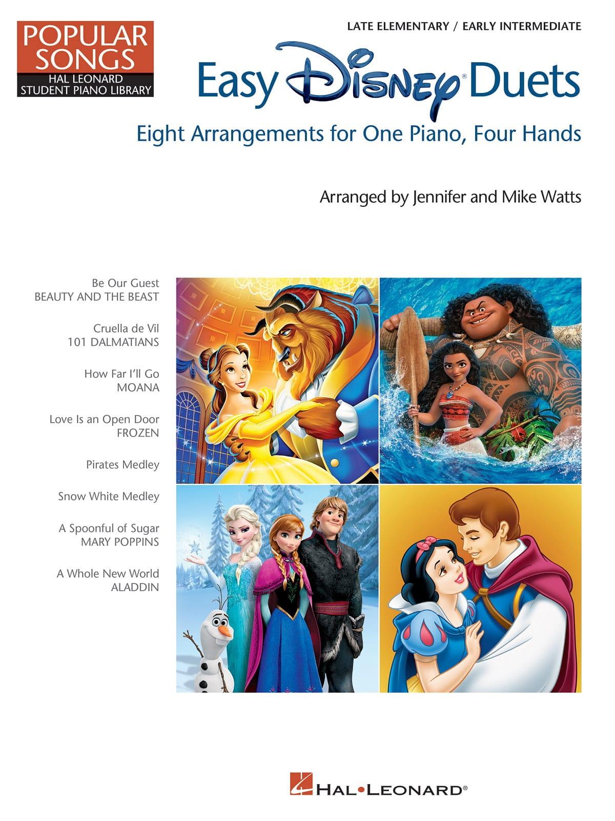 Easy Disney Duets – Popular Songs Series - DISNEY - laflutedepan.com