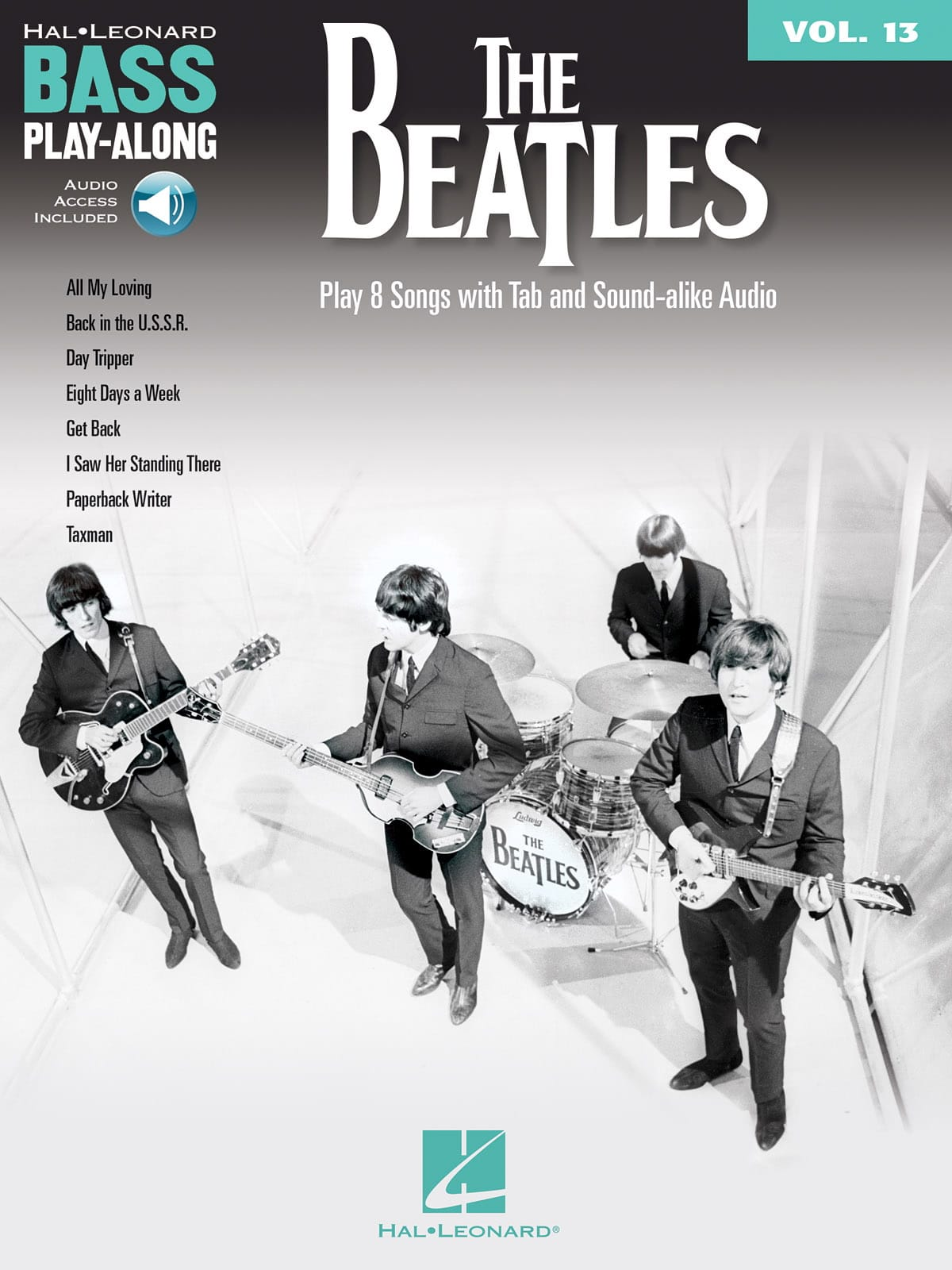 Bass Play-Along Volume 13 - The Beatles - Beatles - laflutedepan.com