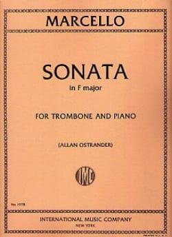 Sonate En Fa Majeur Benedetto Marcello Partition laflutedepan
