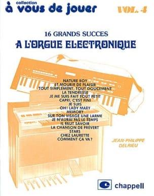 A Vous de Jouer A L'orgue Eléctronique Volume 4 laflutedepan
