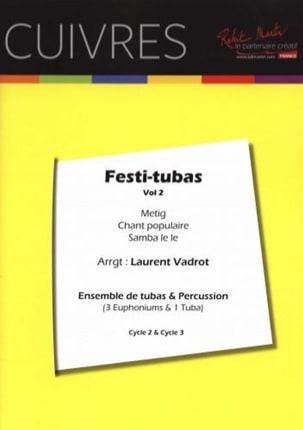 Festi-Tubas - Volume 2 Traditionnel Partition Tuba - laflutedepan