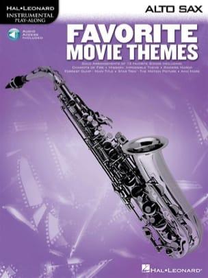 Favorite Movie Themes Partition Saxophone - laflutedepan