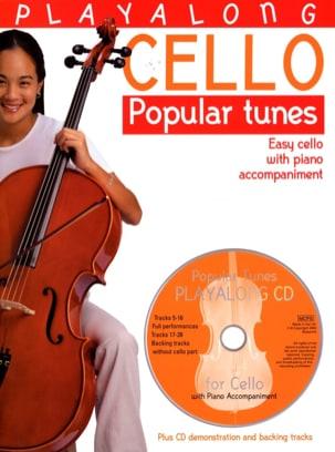 Playalong Cello Popular Tunes Partition Violoncelle - laflutedepan