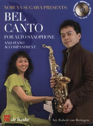 Bel Canto For Alto Saxophone Partition Saxophone - laflutedepan