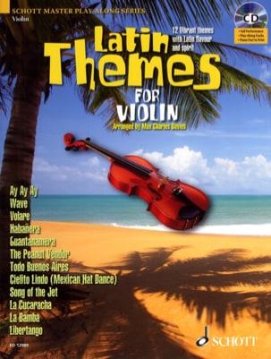 Latin themes Partition Violon - laflutedepan