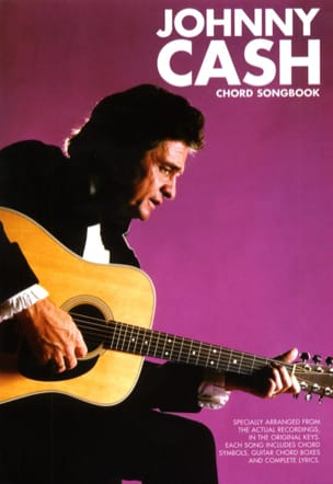 Chord Songbook Johnny Cash Partition Pop / Rock - laflutedepan