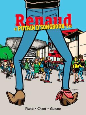 PUTAIN D'SONGBOOK ! - RENAUD - Partition - laflutedepan.com