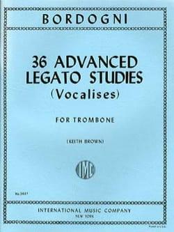 36 Advanced Legato Studies Vocalises Marco Bordogni laflutedepan