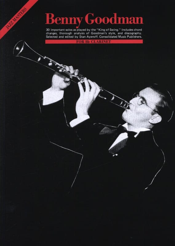 Jazz Masters - Benny Goodman - Partition - laflutedepan.com