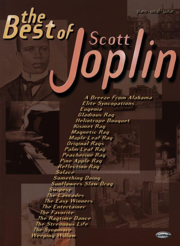 The Best Of Scott Joplin - Scott Joplin - Partition - laflutedepan.com