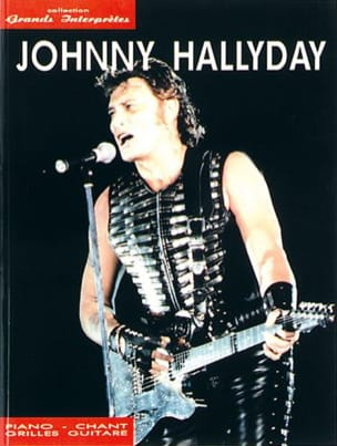 Collection Grands Interprètes Johnny Hallyday Partition laflutedepan