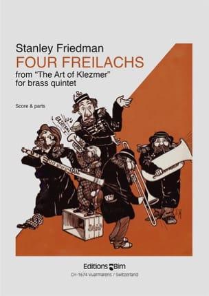 Four Freilachs Stanley Friedman Partition laflutedepan