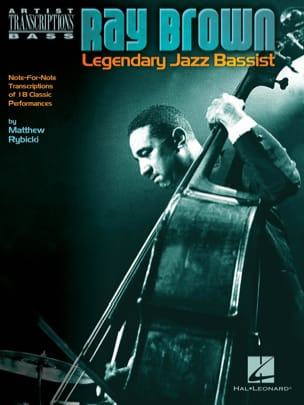 Ray Brown - Legendary Jazz Bassist Ray Brown Partition laflutedepan