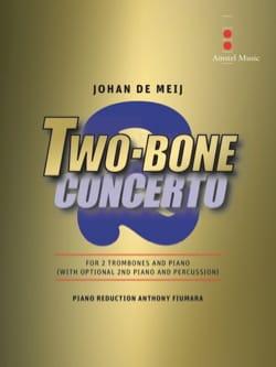 Two-Bone Concerto - Johan De Meij - Partition - laflutedepan.com