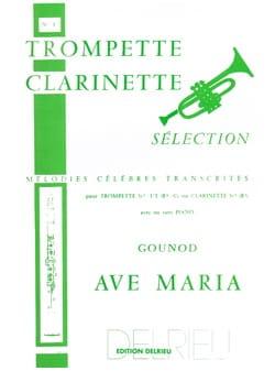 Ave Maria GOUNOD Partition Trompette - laflutedepan