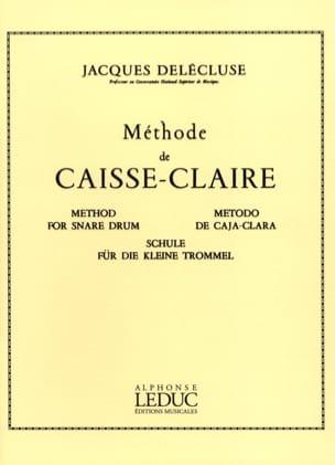 Méthode de Caisse-Claire Jacques Delécluse Partition laflutedepan
