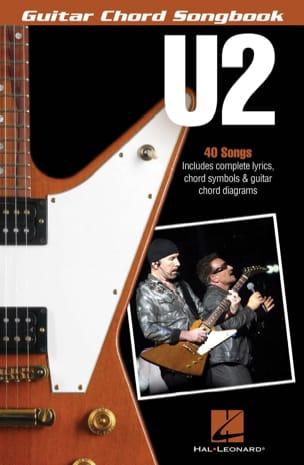 U2 - Guitar Chord Songbook U2 Partition Pop / Rock - laflutedepan