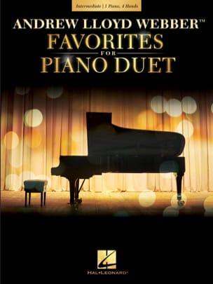Andrew Lloyd Webber Favorites for Piano Duet laflutedepan