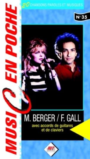 Music en poche N° 35 - Berger Michel / Gall France - laflutedepan.com