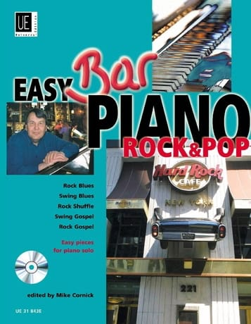 Easy Bar Piano Rock & Pop - Mike Cornick - laflutedepan.com