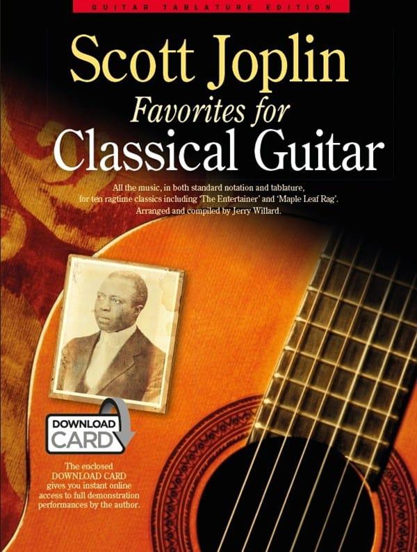 Scott Joplin Favorites For Classical Guitar - laflutedepan.com