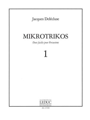 Mikrotrikos Volume 1 Jacques Delécluse Partition laflutedepan