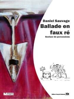 Ballade En Faux Ré Daniel Sauvage Partition laflutedepan